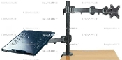 Notebook/Monitor Extension Arm Stand Desktop Clamp (002-0013)