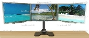 "Deluxe Triple Monitor Stand Free Standing up to 28"" (002-0020)"