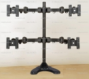 "Articulating Quad Monitor Free Standing Up to 26"" (002-0028)"
