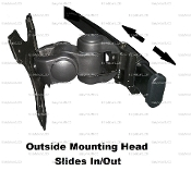 EZM Deluxe Outside Mounting Head Kit (002-002S)