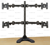 "EZM Articulating Quad Mount Free Standing 27""Open(002-0028Open)"