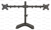"EZM Basic Dual Monitor Stand Free Standing up to 27"" (002-0009)"