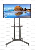 "EZM Universal Mobile TV Cart 30"" to 65"" Ope(002-0032 Open)"