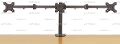 "EZM 3 Monitor Mount Stand Clamp up to 24"" Open (002-0010 Open)"