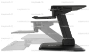 EZM Sit Stand Workstation Desktop Riser Open (002-0037 Open)
